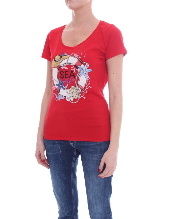LIU JO Short sleeve Red