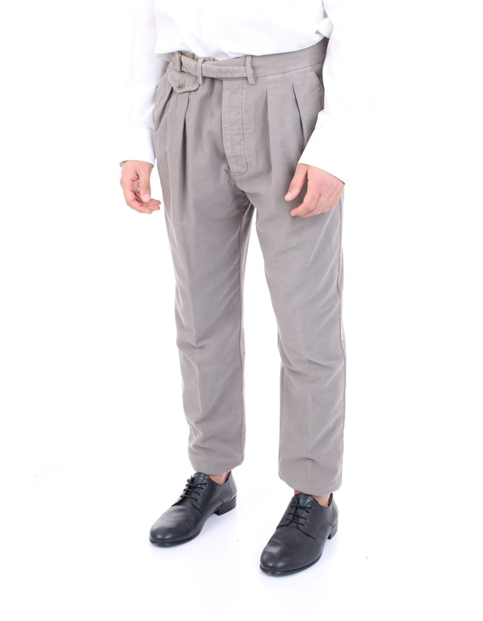 LARDINI Trousers Grey