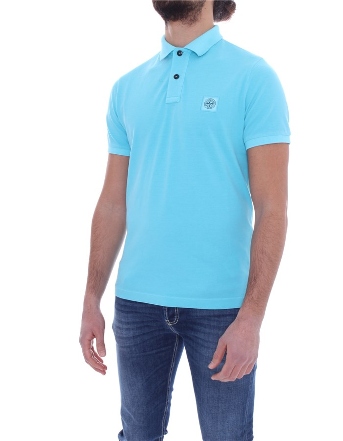 STONE ISLAND Polo shirt Short sleeves Men 741522S67 1