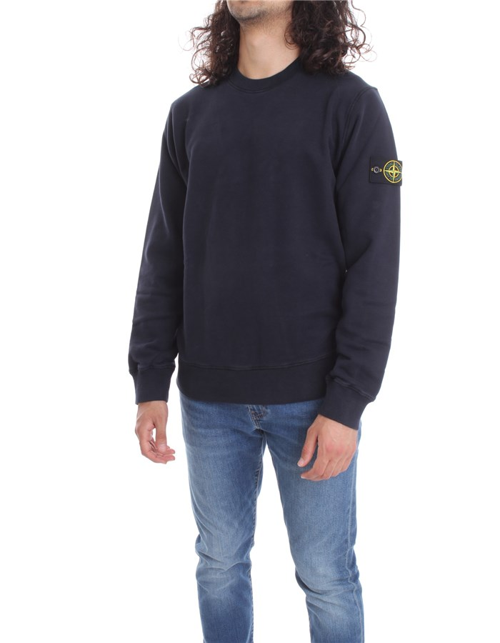STONE ISLAND Sweat Blue