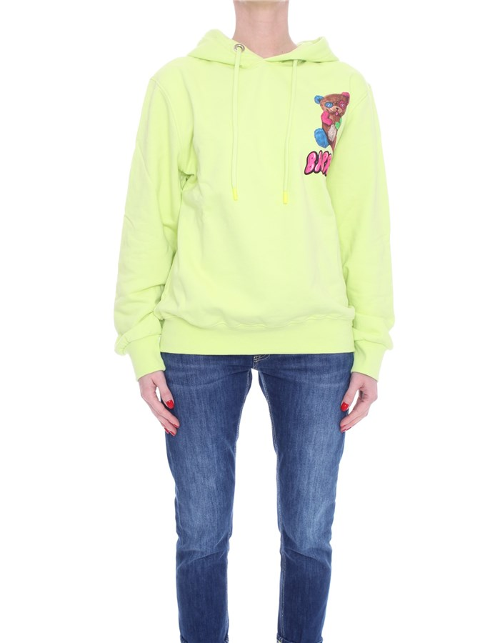 BARROW Hoodies yellow
