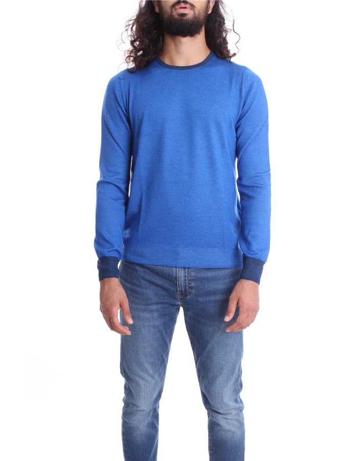 FAY  Sweater NMMC141249T Light blue