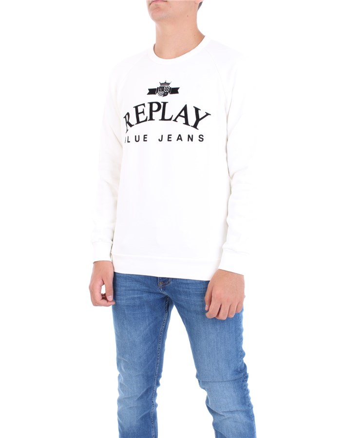 REPLAY Sweatshirt White