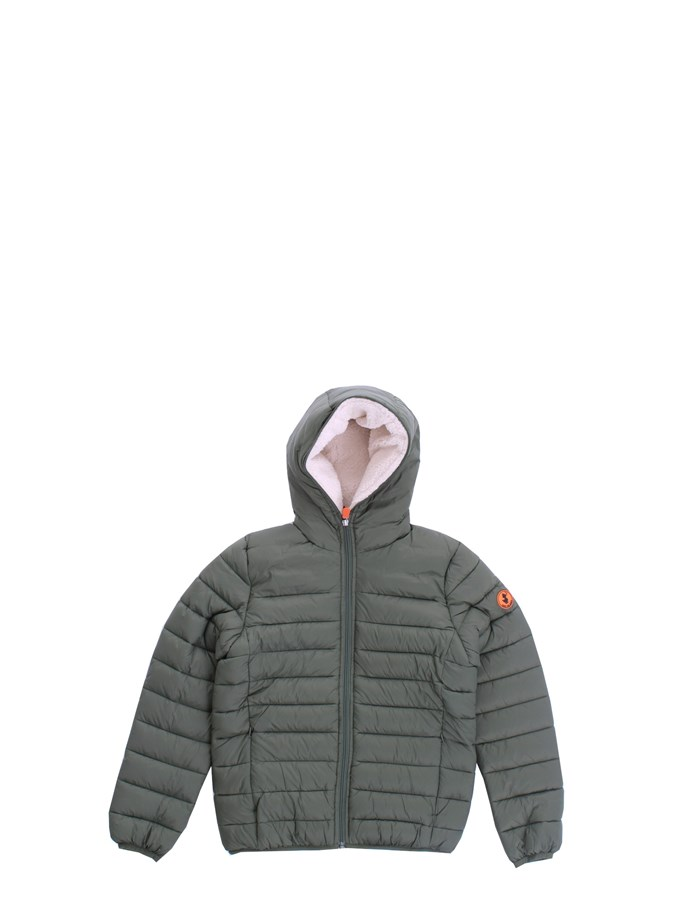 SAVE THE DUCK Jackets Short J3905B GIGAY Green