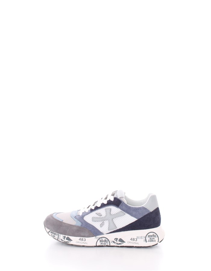 PREMIATA  low Blue gray