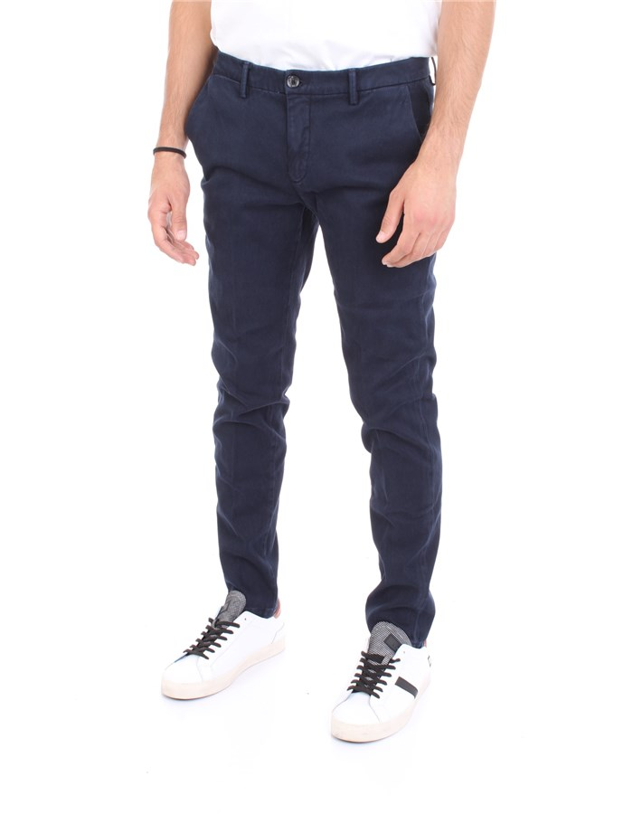 YAN SIMMONS Trousers Blue