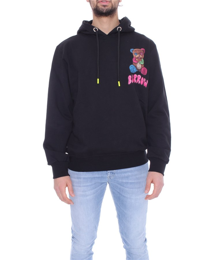BARROW Hoodies Black