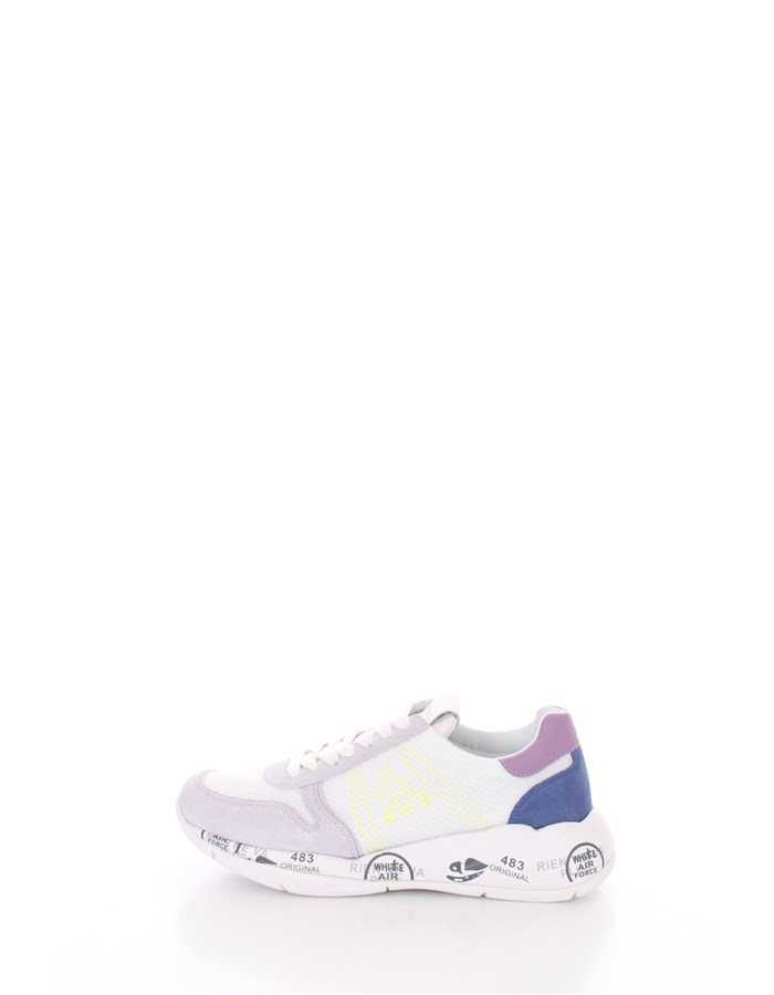PREMIATA  low Wisteria white