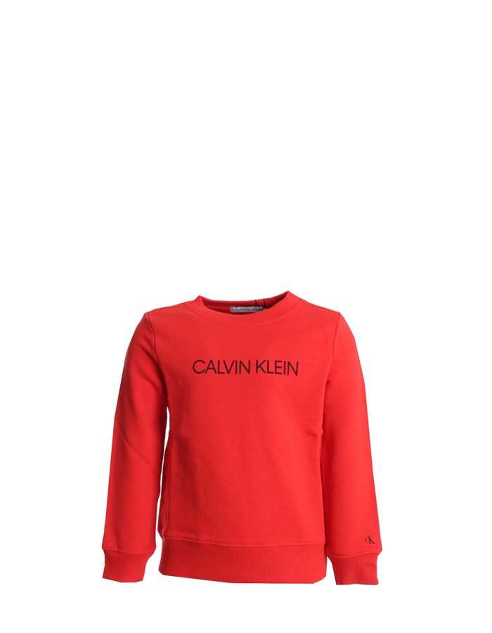 CALVIN KLEIN Crewneck  Red