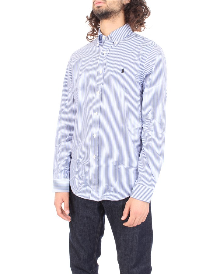RALPH LAUREN Shirt Blue white
