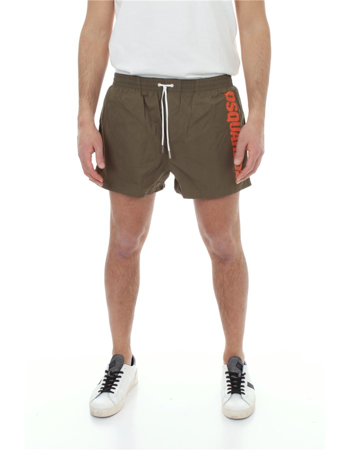 DSQUARED2 Sea shorts Military