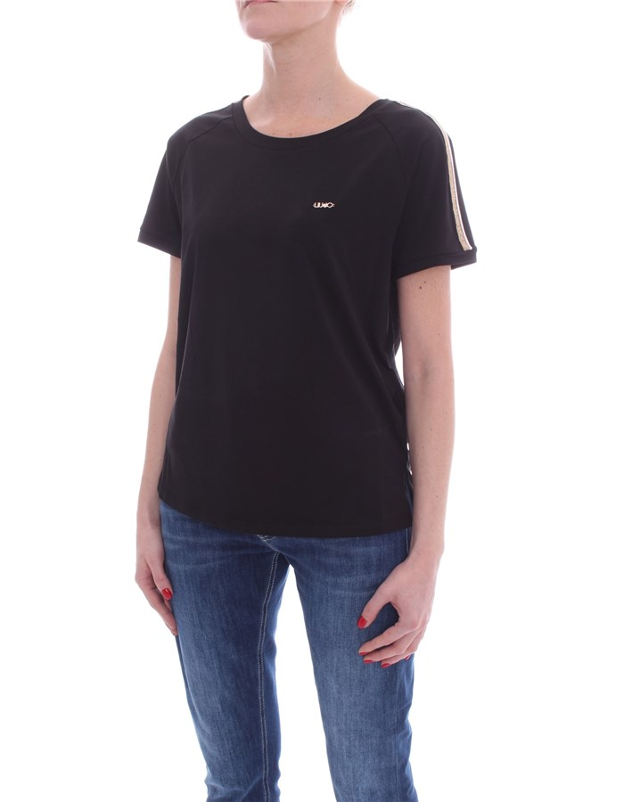 LIU JO Short sleeve Black