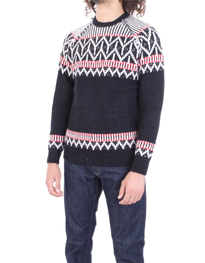 REPLAY Sweater Black red