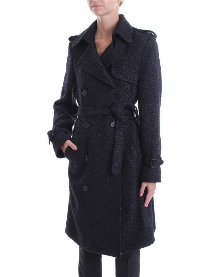 DONDUP Trench Black