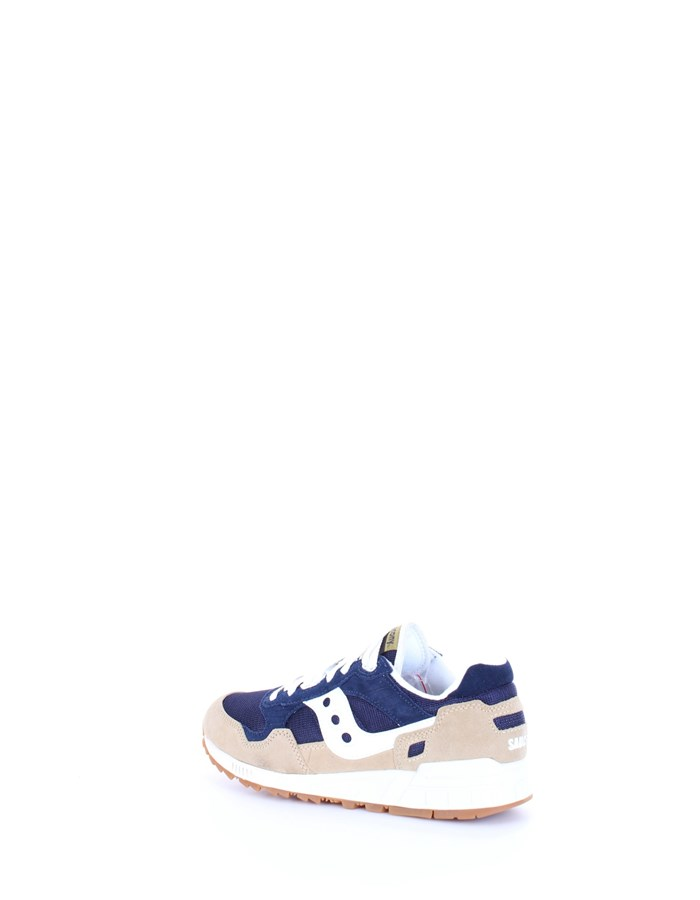 SAUCONY Sneakers Tan navy white