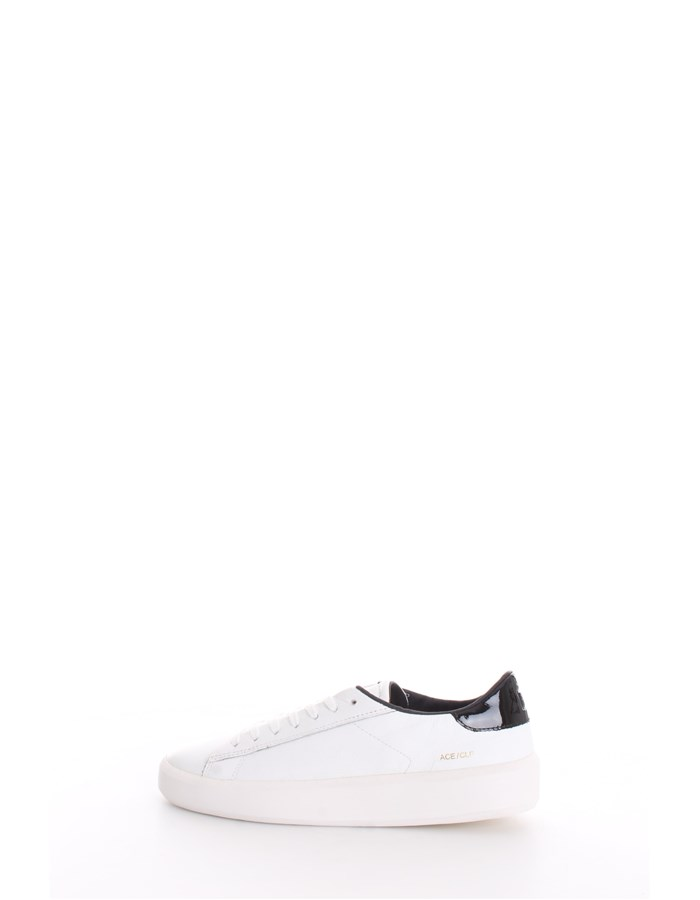 D.A.T.E. Trainers White black
