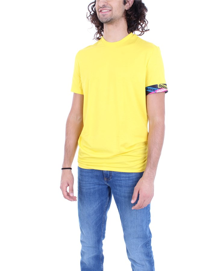 DSQUARED2 T-shirt yellow