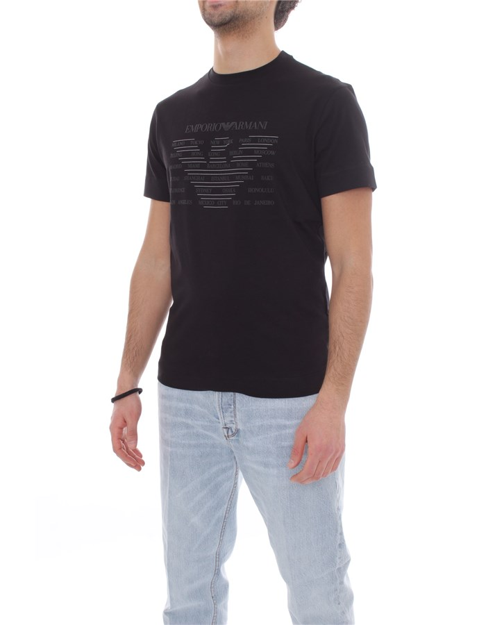 EMPORIO ARMANI Short sleeve Black