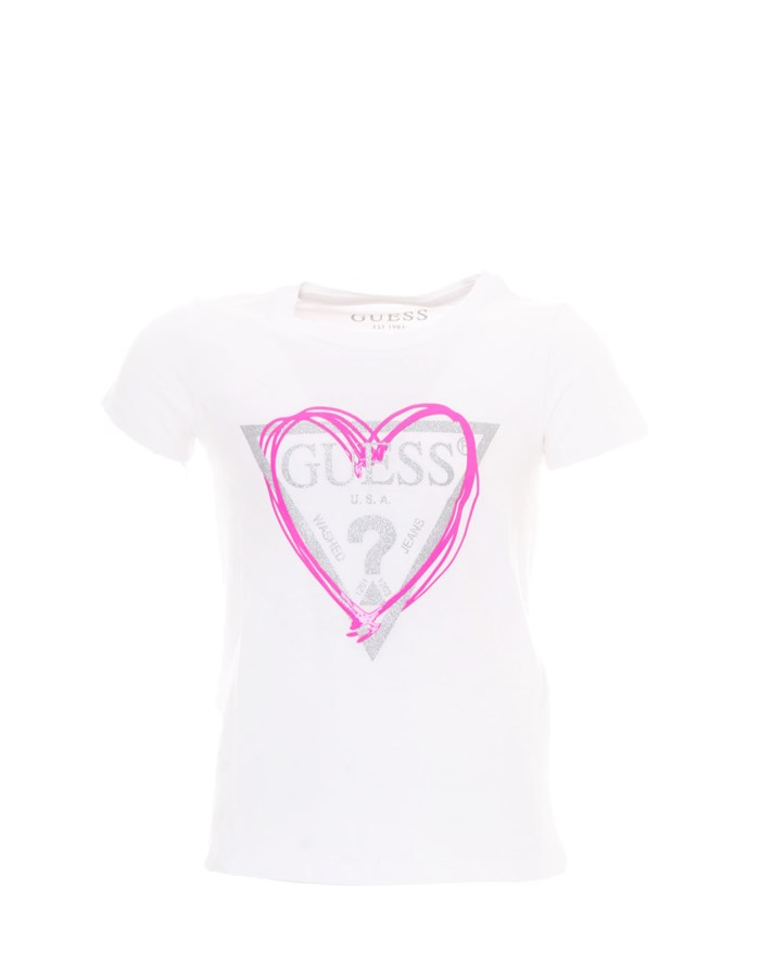 GUESS T-shirt Short sleeve Girls K1RI00K6YW1 0