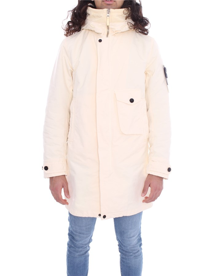 STONE ISLAND Parka Butter