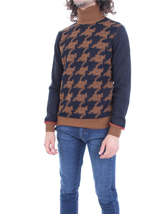 MANUEL RITZ Sweater Blue