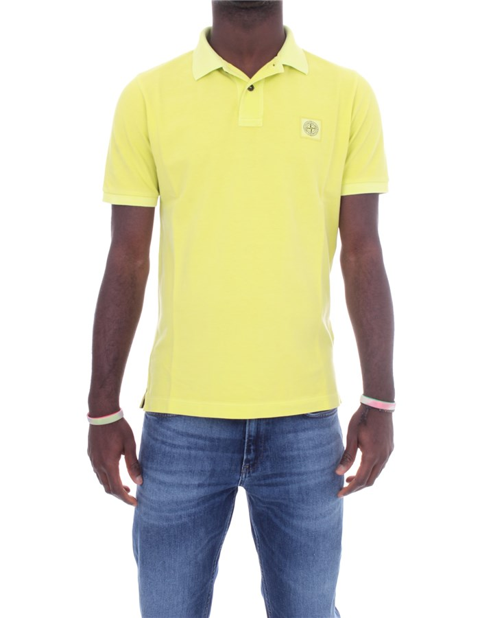 STONE ISLAND Polo shirt Short sleeves 741522S67 Pistachio