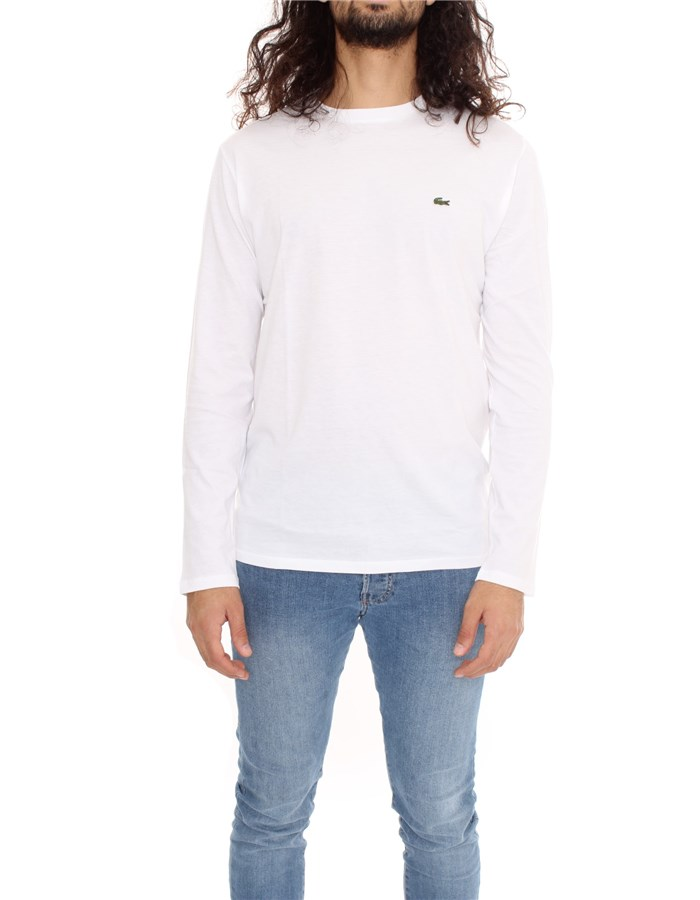 LACOSTE Long sleeve White