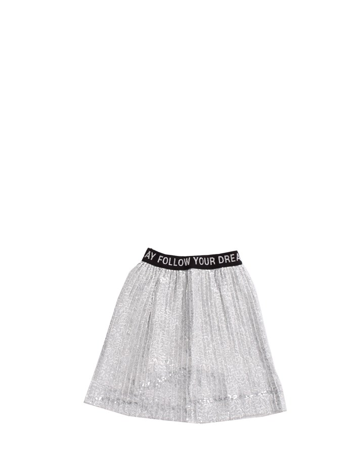 REPLAY Skirt Silver