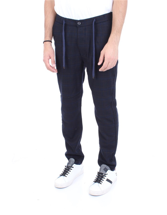 ALLEY DOCKS Trousers Navy