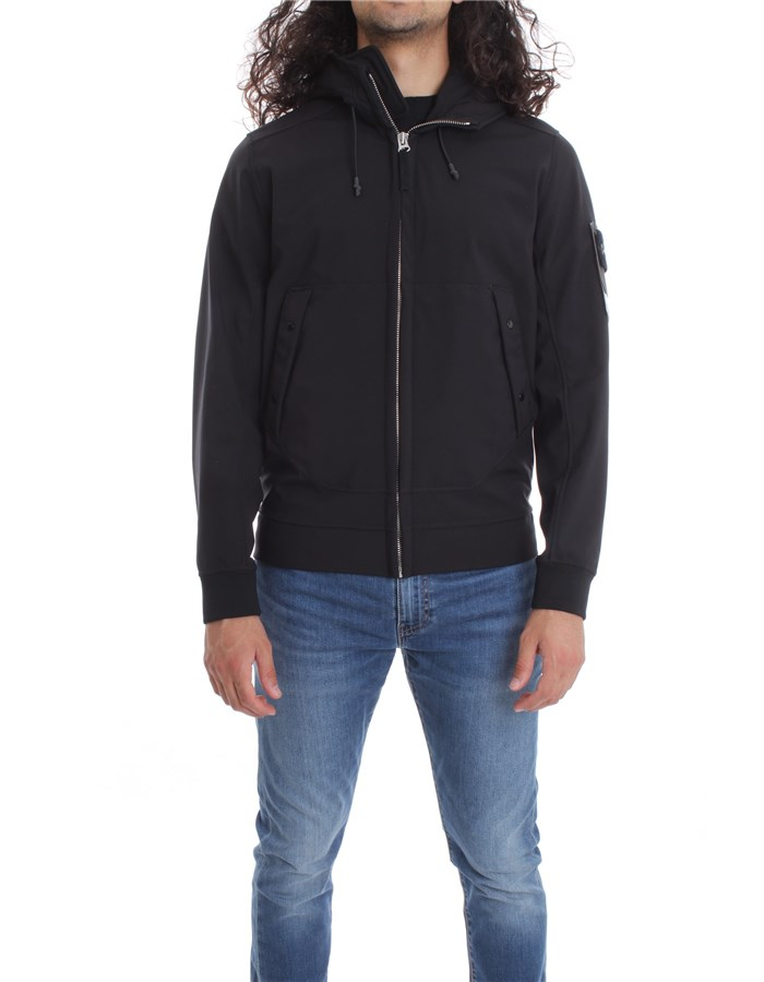 STONE ISLAND Jackets Jacket 7315Q0122 Black