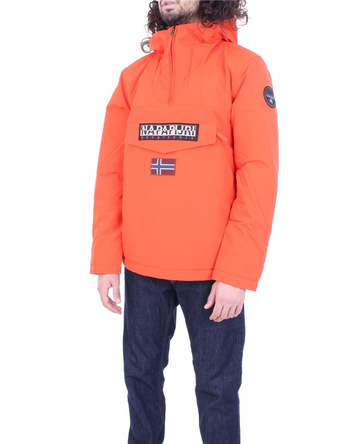 NAPAPIJRI Coat Orange