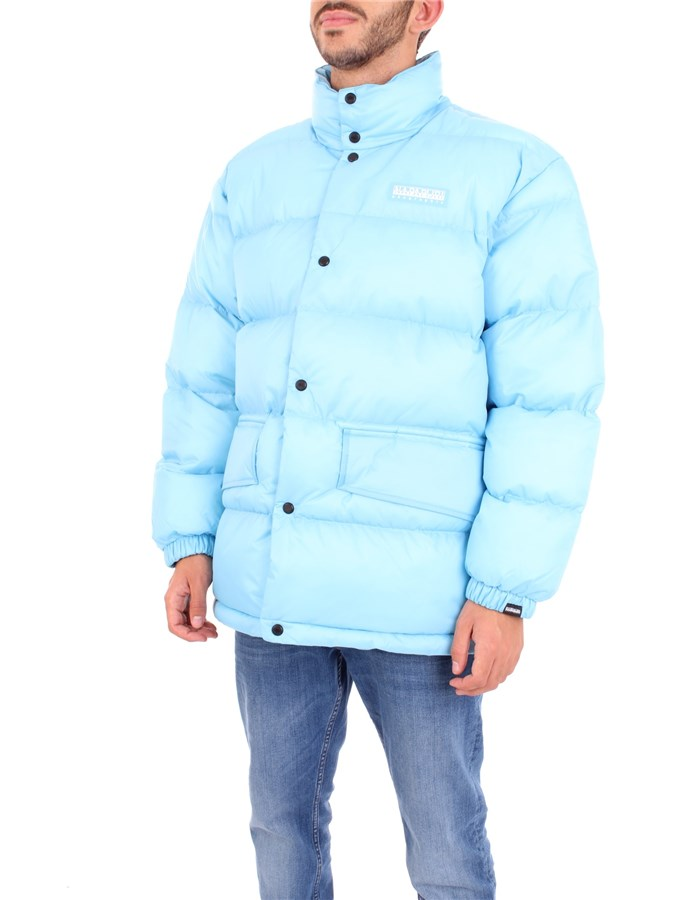 NAPAPIJRI Coat Light blue