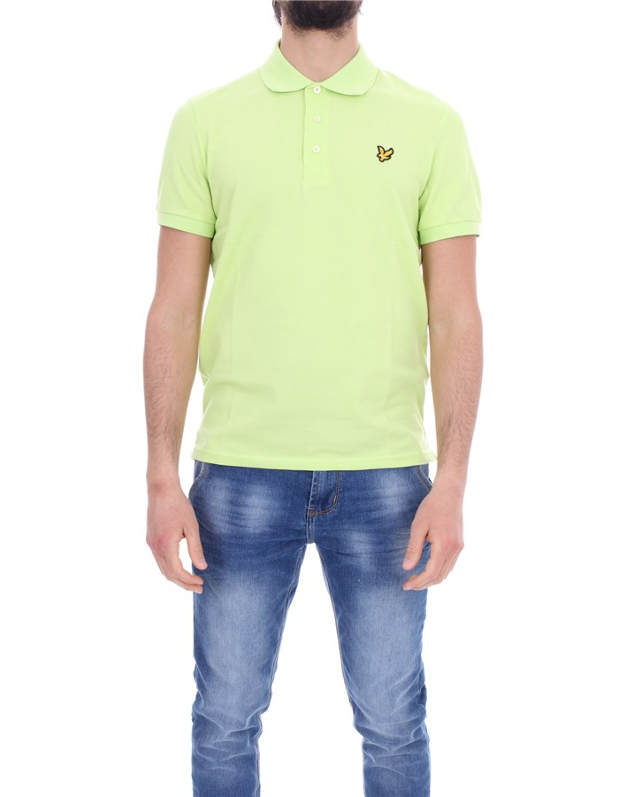 LYLE & SCOTT Vintage Short sleeves lime