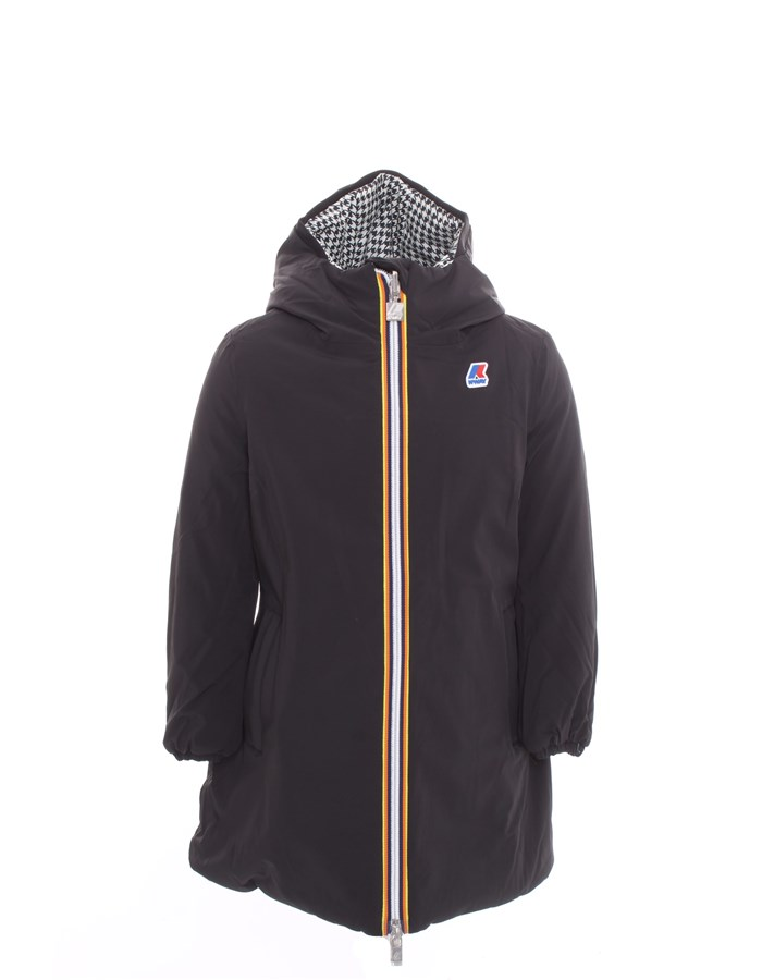 KWAY Long Black white