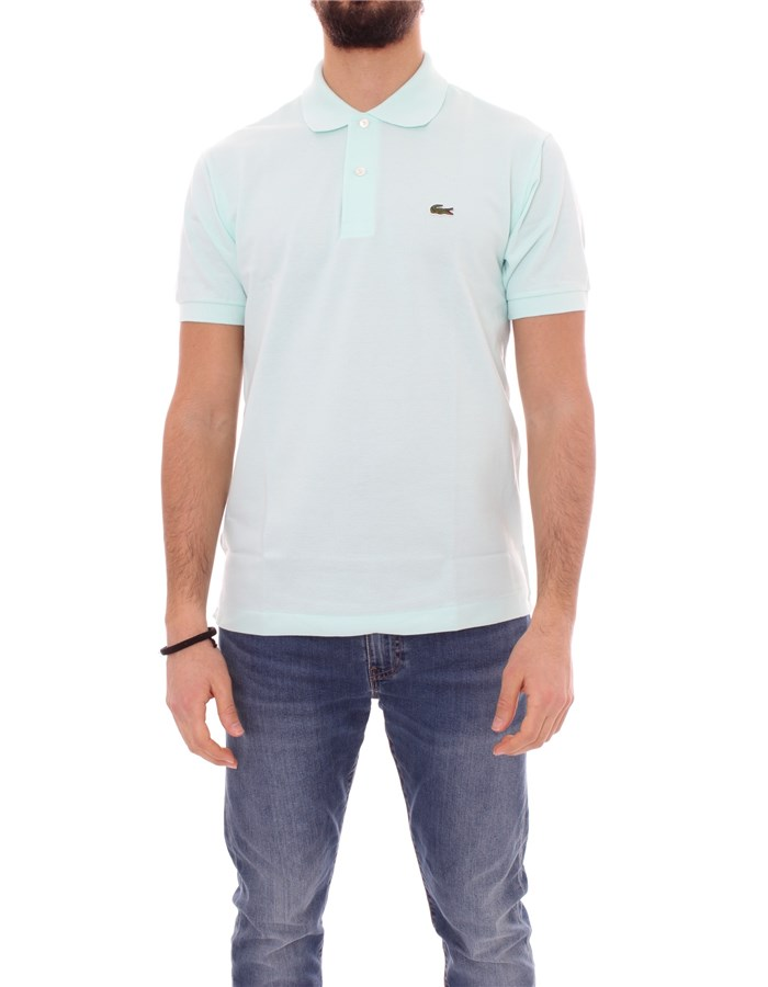 LACOSTE T-shirt Short sleeve 1212 Seringat green