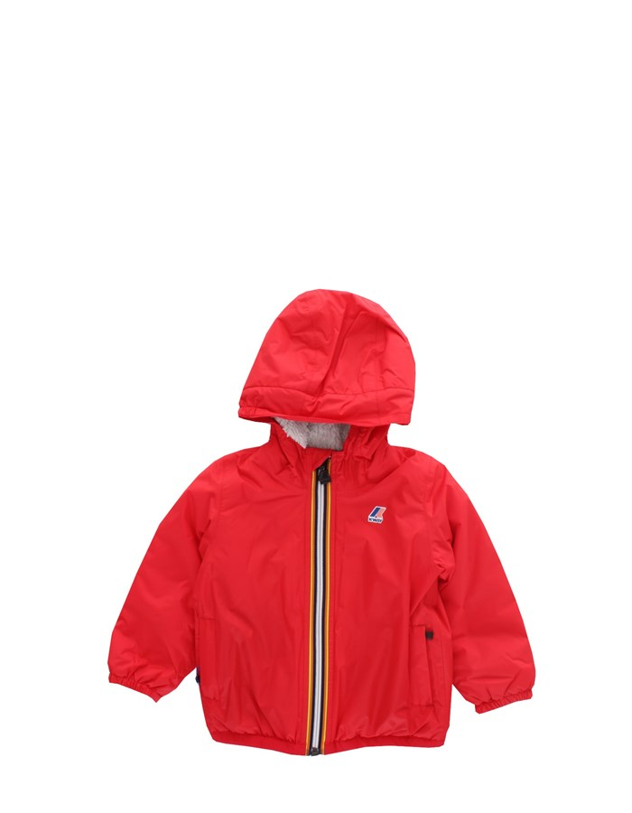 KWAY Jackets Short K006CQ0 red