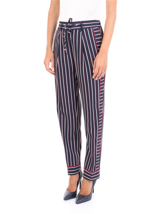 TOMMY HILFIGER Trousers Blue line
