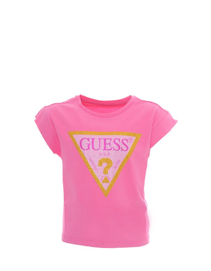 GUESS KIDS Short sleeve fuchsia