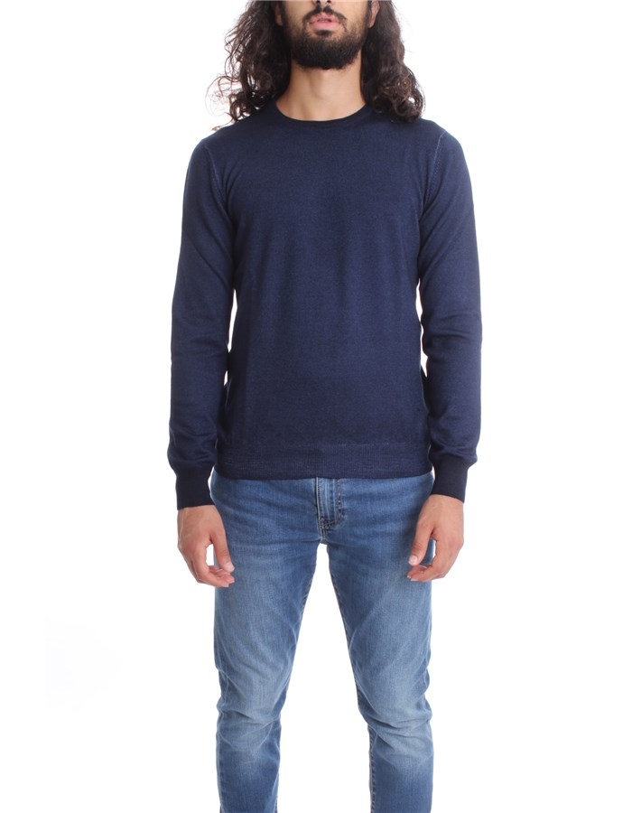 FAY  Sweater NMMC141249T Blue