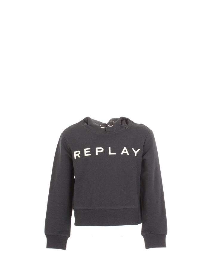 REPLAY Sweat Black