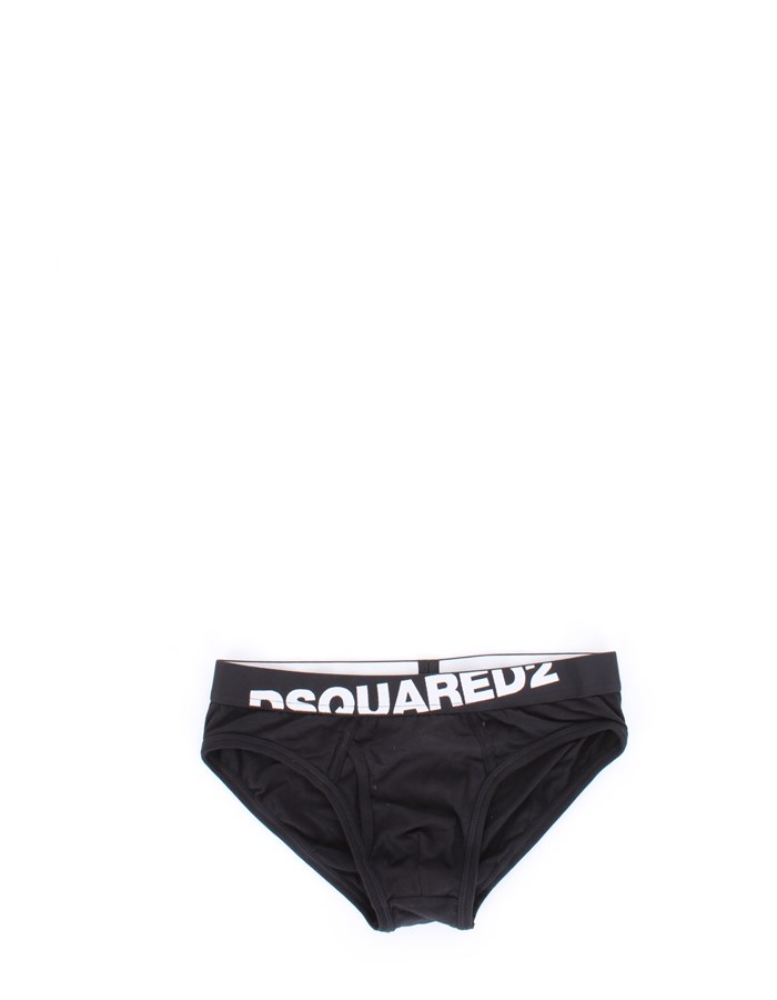 DSQUARED2 Slip Black
