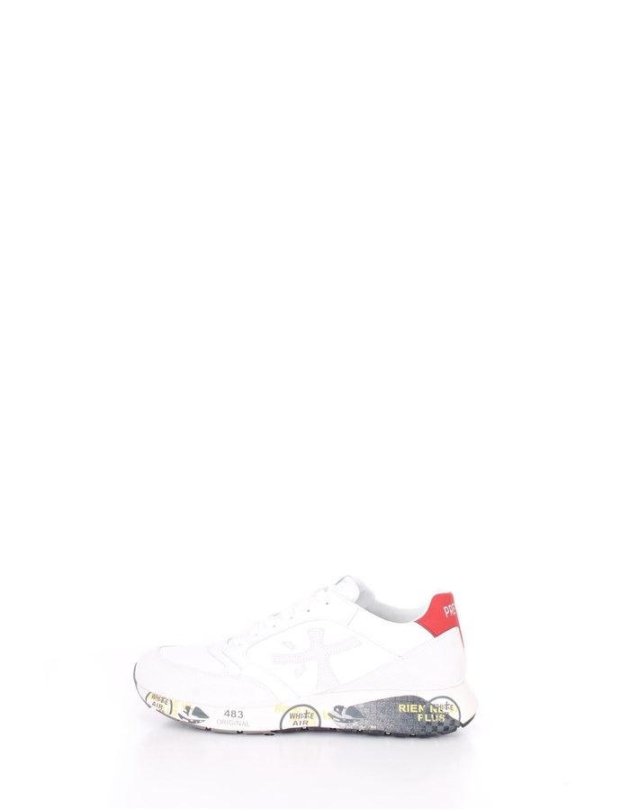 PREMIATA  low White blue red