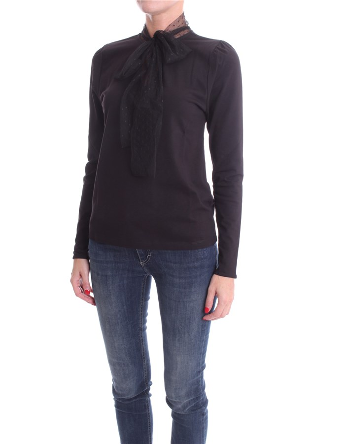 BLUMARINE Long sleeve Black