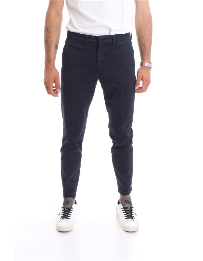 FAY Trouser Blue