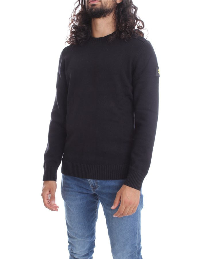 LYLE & SCOTT Vintage Crewneck  Black