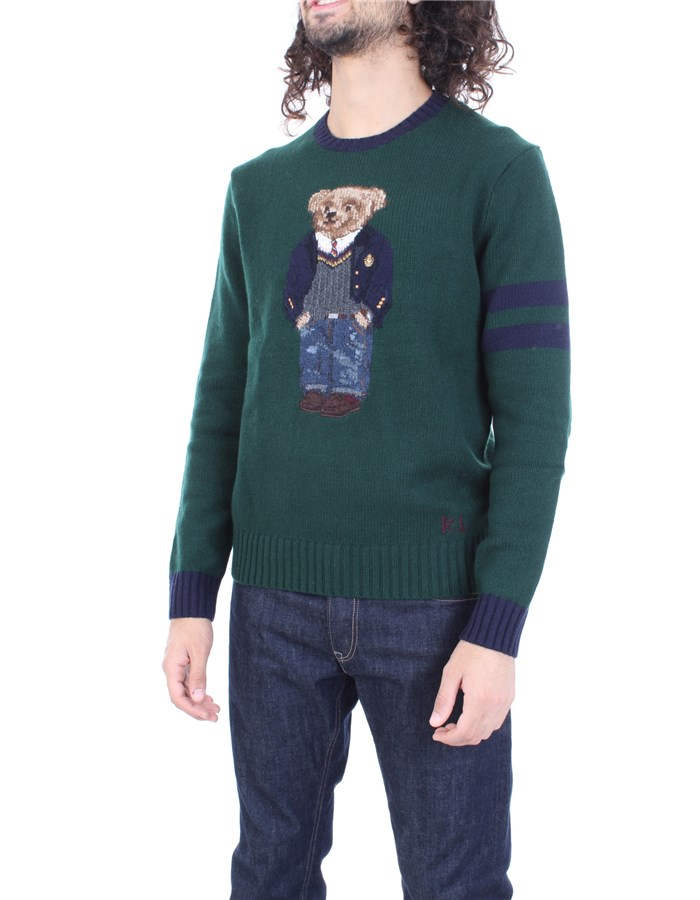 RALPH LAUREN Sweater Green