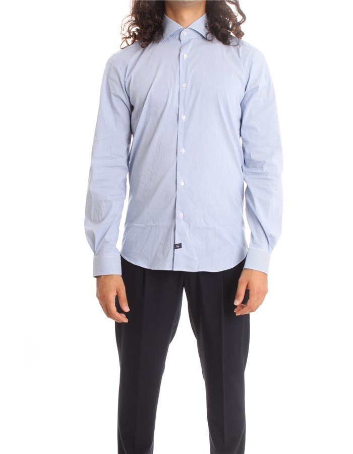 FAY T shirt  Light blue row