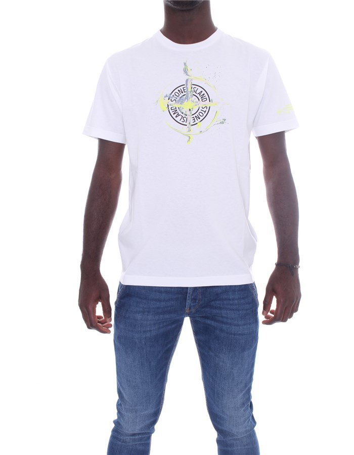 STONE ISLAND T-shirt Short sleeve 74152NS83 White