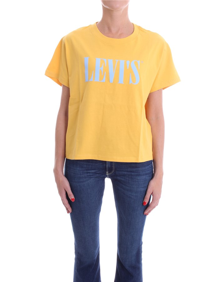 LEVI'S T-shirt Short sleeve Women 69973 0