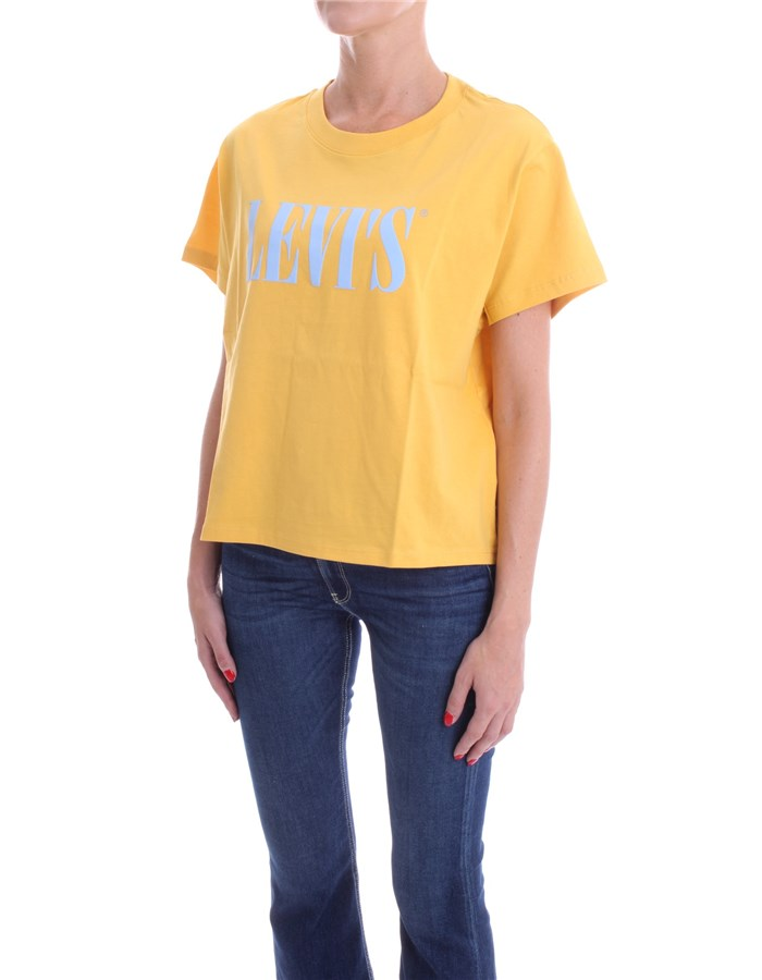 LEVI'S T-shirt Short sleeve Women 69973 1
